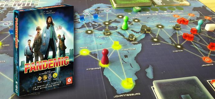 Test jeu Pandemic