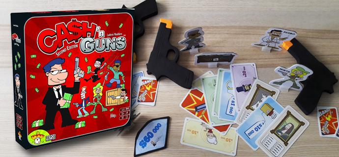 Test jeu Cash and Guns