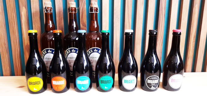 Bières de la Brie et Briardes de la Brasserie Rabourdin